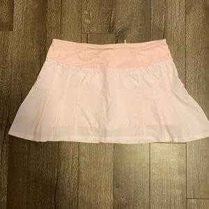 Pink Lululemon Running Skirt